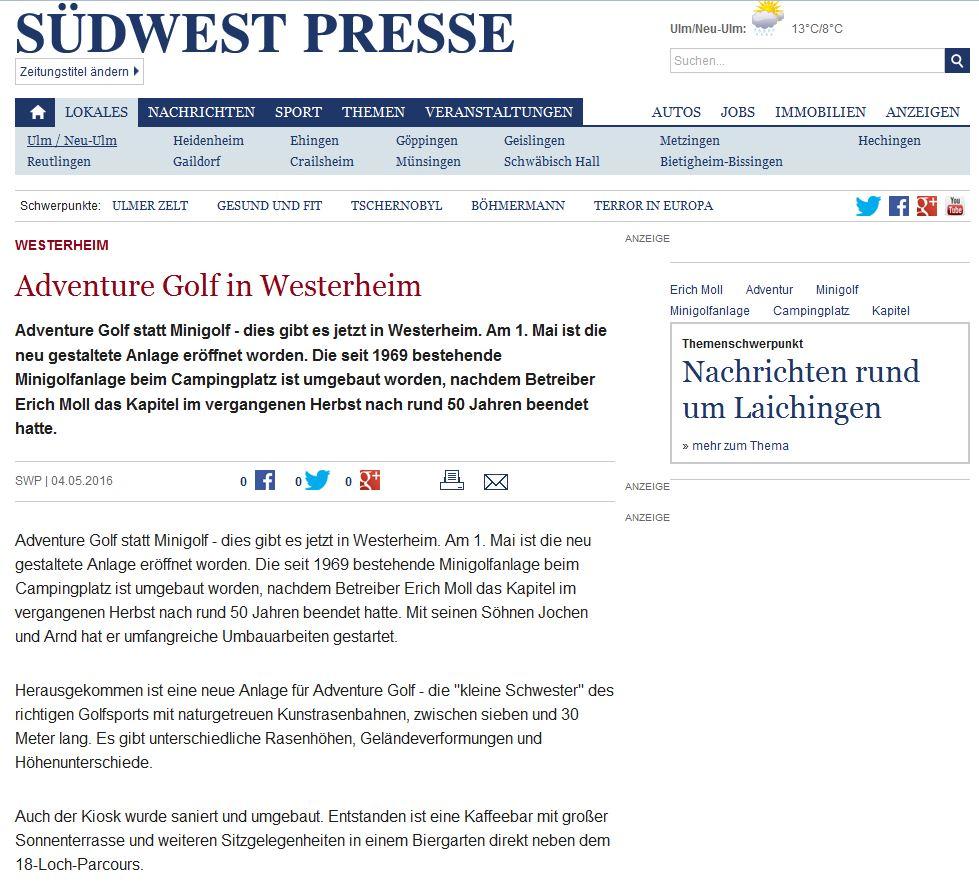 Südwest Presse Alb-Donau