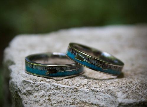Turquoise arrow band
