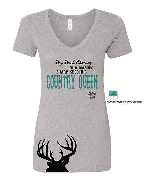 Country Queen tee