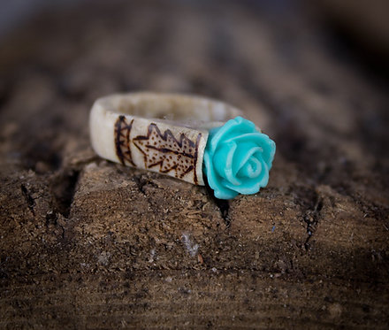 Custom Forest Queen Ring