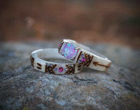 Pink and purple set