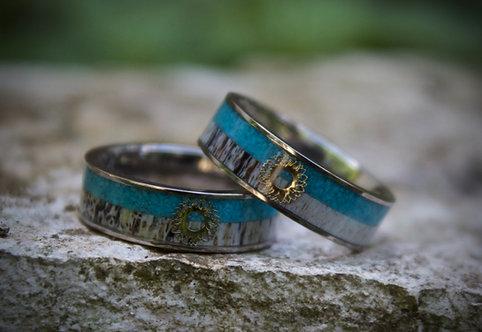 sunflower turquoise band