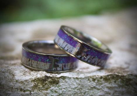 purple butterfly band