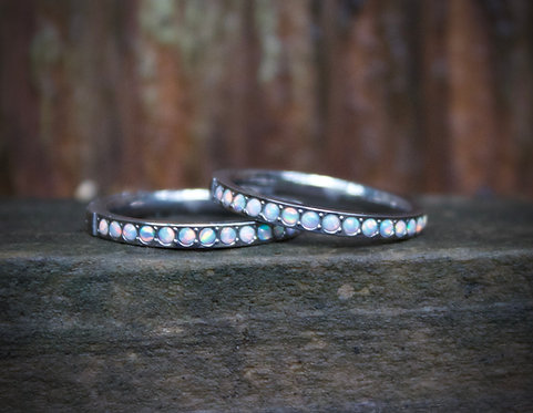 Opal sparkle bands
