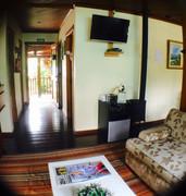 Recepção- Pousada Villa Cantaloa - Gramado RS