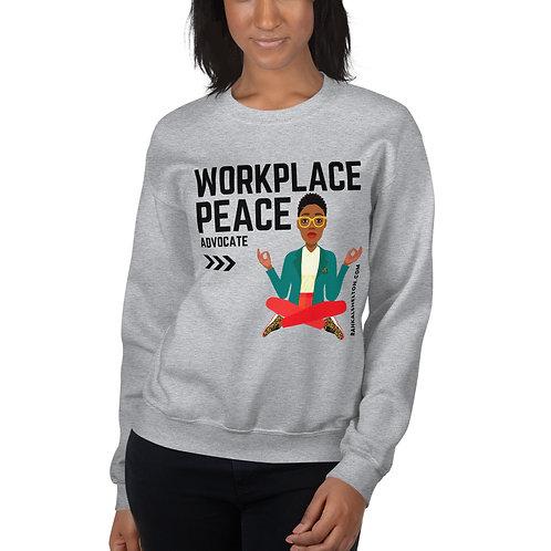 Workplace Peace Unisex Sweatshirt
