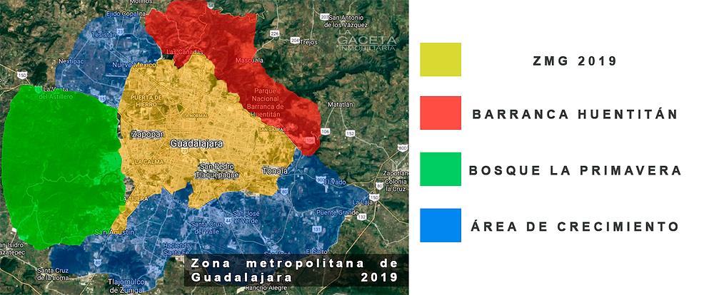 zona metropolitana de guadalajara 2019