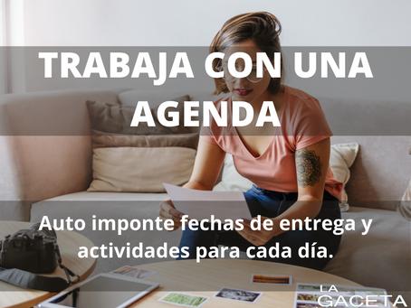 10 TIPS PARA TRABAJAR DESDE CASA DE MANERA EFECTIVA