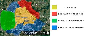 zona metropoltan de Gudalajara