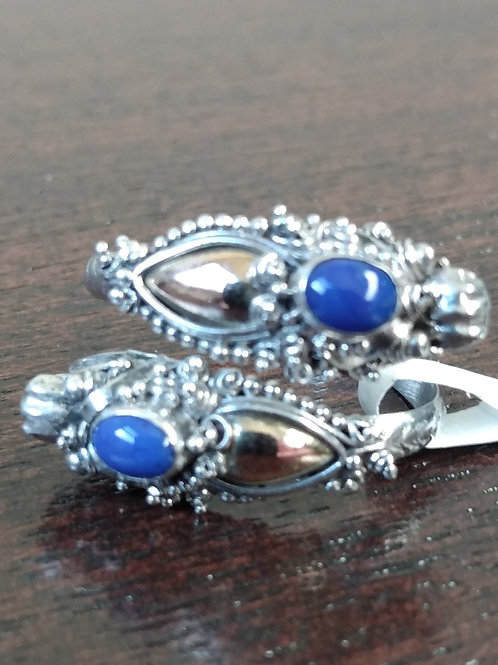Lapis Lazuli Gold & Silver Ring