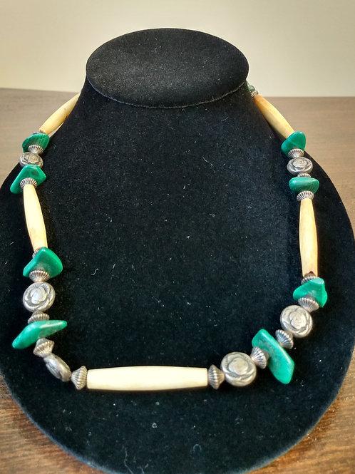 Buffalo Malachite Necklace