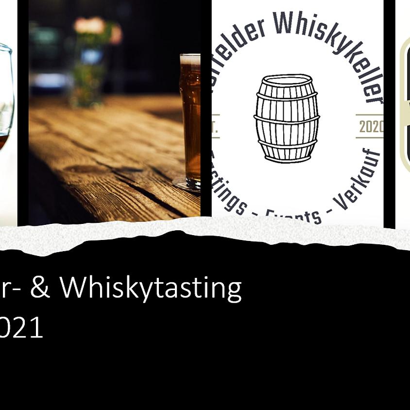 Craft beer & whiskey tasting III