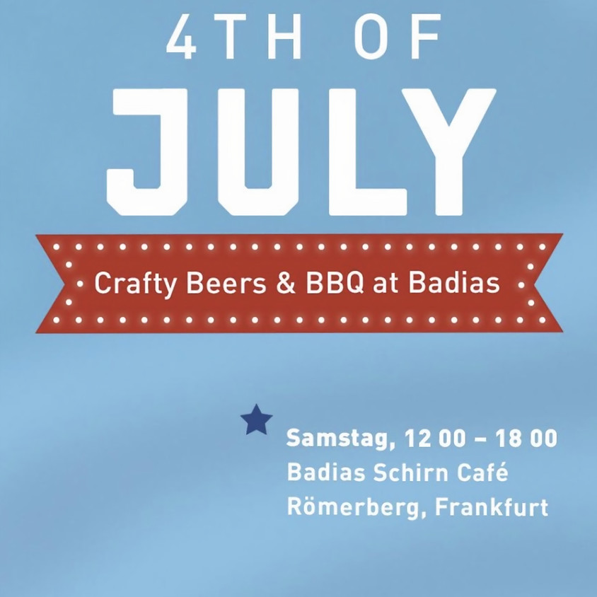 4th of July -Crafty Beers & BBQ at Badias