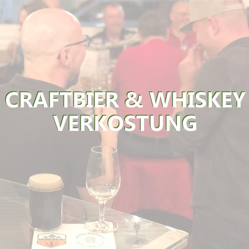 Craft beer & whiskey tasting