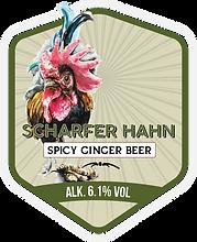 Scharfer Hahn (Spicy Ginger Beer)