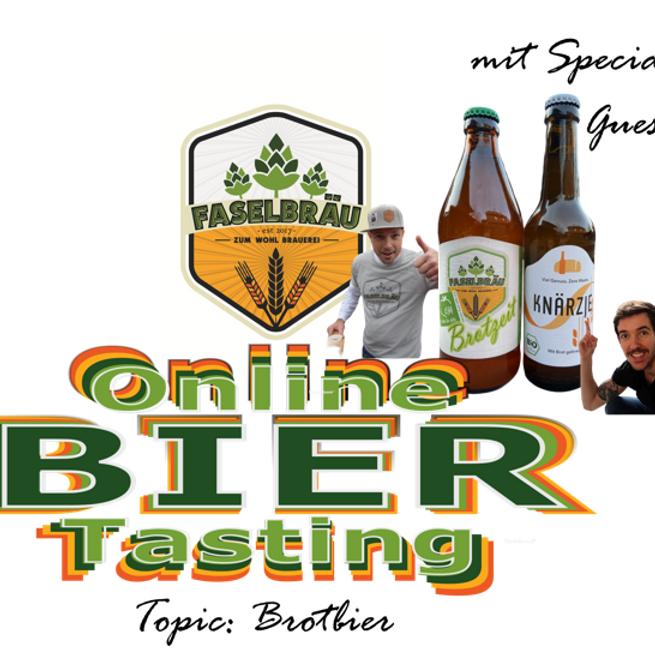 Faselbräu Bier Tasting mit Special Guest Knärzje