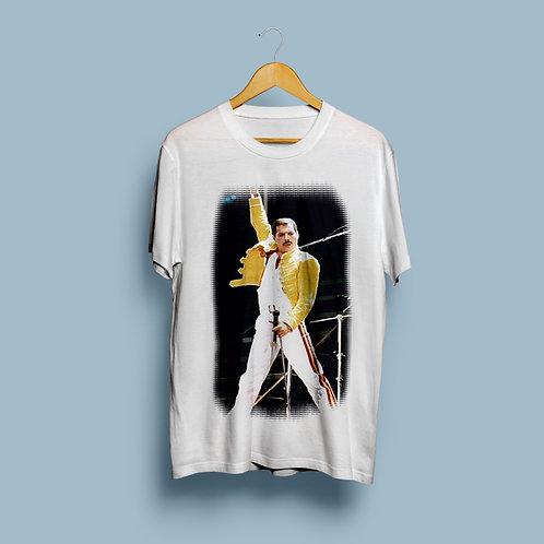 Freddie T-Shirt Pose
