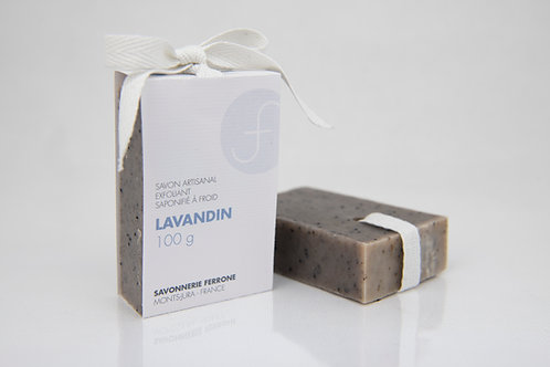 SAVON LAVANDIN, exfoliant et relaxant