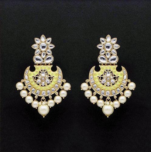 Kundan Meenakiri Earrings