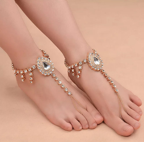 Stone Anklets Foot Jewelry
