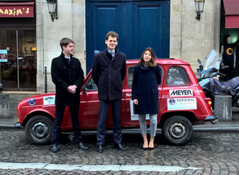 4L Trophy : Départ de l'équipage soutenu par Aurignac Finance