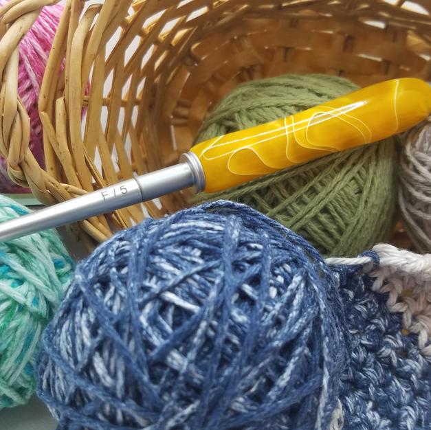 Crochet Hook Set - Sunshine