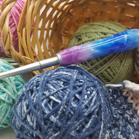 Crochet Hook Set - Hydrangea