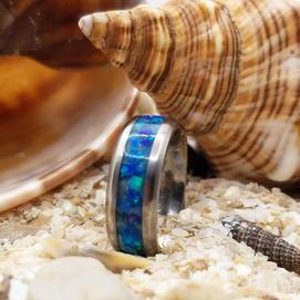 Custom Tropical Waters Ring