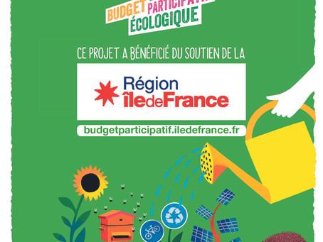De La Rue A La Scène lauréate du 2ème Budget participatif écologique de la région Ile de France 2021