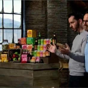 ON THE TV: Fun branding work survives the Dragons Den