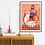 Thumbnail: Perfetto Blood Orange Poster A3 print