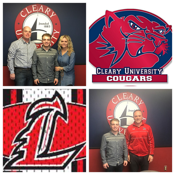 Strauss is headed to Cleary University!