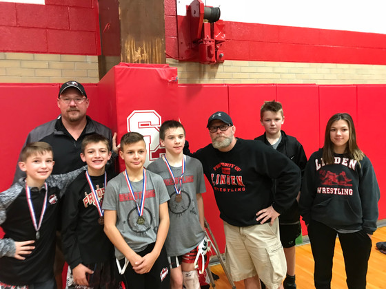 Middle School Tough Eagles bring home some hardware!