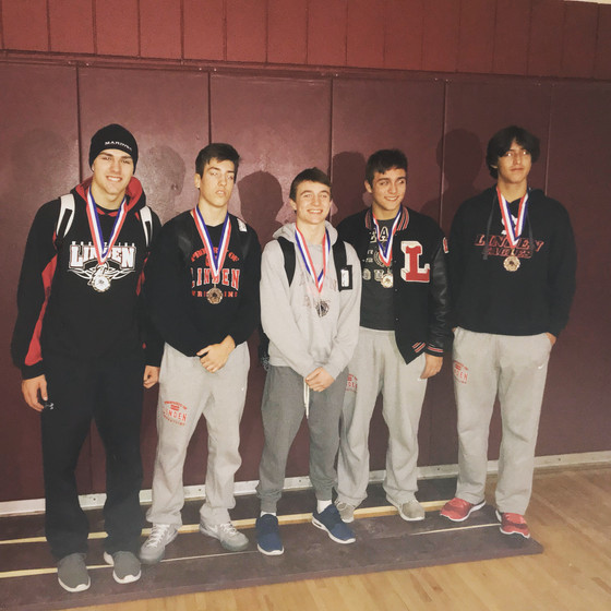 Linden Wrestling shows Growth at Genesee County Tournament