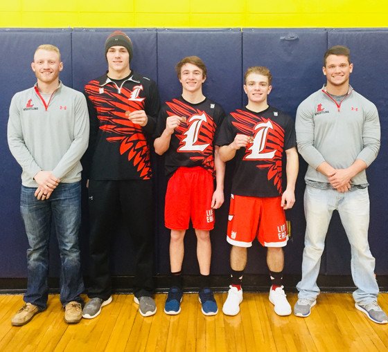 Linden Wrestling's Three Musketeers are State Bound
