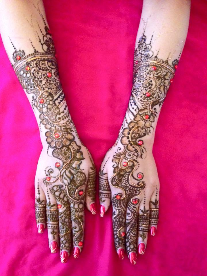 Back of Bridal Hands