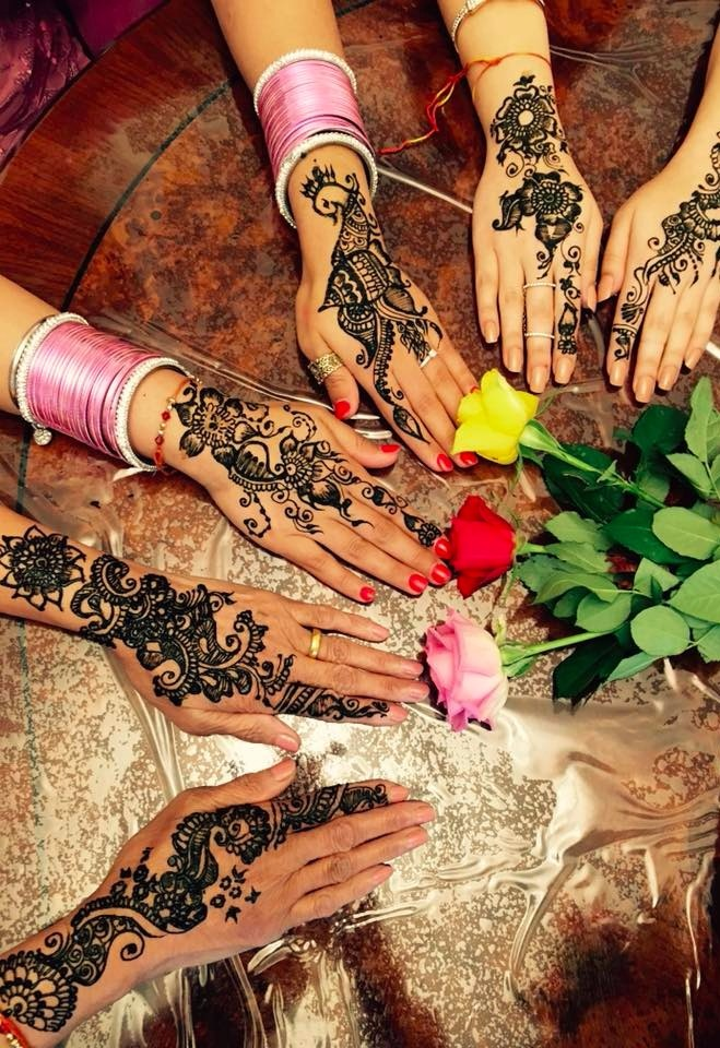 Mehendi Party!