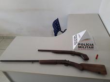 SERRA DO SALITRE - POSSE ILEGAL DE ARMA DE FOGO