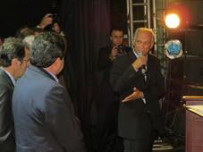 VICE- GOVERNADOR  DE MINAS VISITA SERRA DO SALITRE DURANTE AS FESTIVIDADE DO ANIVERSARIO DA CIDADE