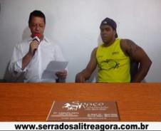 LUTADOR DE MMA FALA  SOBRE EVENTO EM SERRA DO SALITRE
