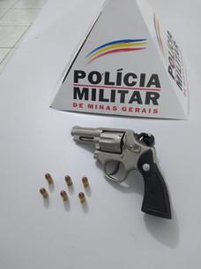 POLÍCIA MILITAR ENCONTRA ARMA DE FOGO COM PACIENTE EM HOSPITAL EM SERRA DO SALITRE - MG