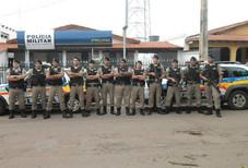 Polícia Militar de Serra do Salitre realiza operação batida policial e combate a realização de jogo