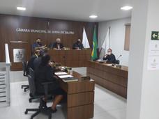 VEREADORES VOTARAM  NOVA LEI QUE CRIA NORMAS DE ENFRENTAMENTO AO COVID-19 NO MUNICÍPIO DE SERRA DO S