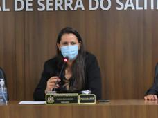 PROJETO DE LEI DE AUTORIA DA PRESIDENTA DA CÂMARA É REJEITADO POR UNANIMIDADE EM SERRA DO SALITRE.