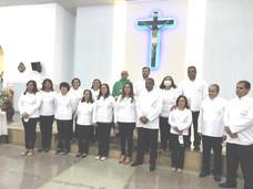 CRUZEIRO DA FORTALEZA TEM NOVOS MINISTROS EXTRAORDINÁRIOS DA SAGRADA COMUNHÃO