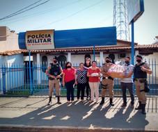 INTERAÇÃO COMUNITÁRIA - POLÍCIA MILITAR SERRA DO SALITRE - MG