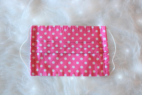 Pink & White Polka Dots Medium