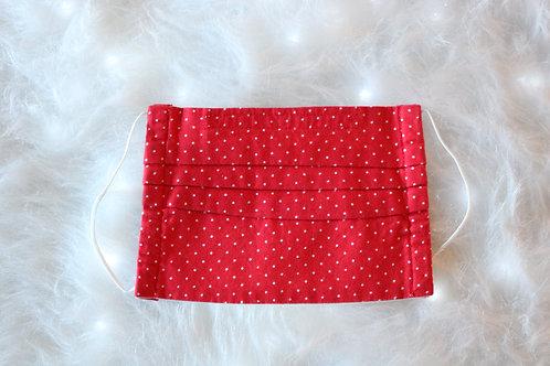 Tiny Red & White Polka Dots