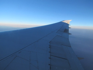 2014 European Summer Travels and Tours:  Day 1  - Flight Over and Arrival