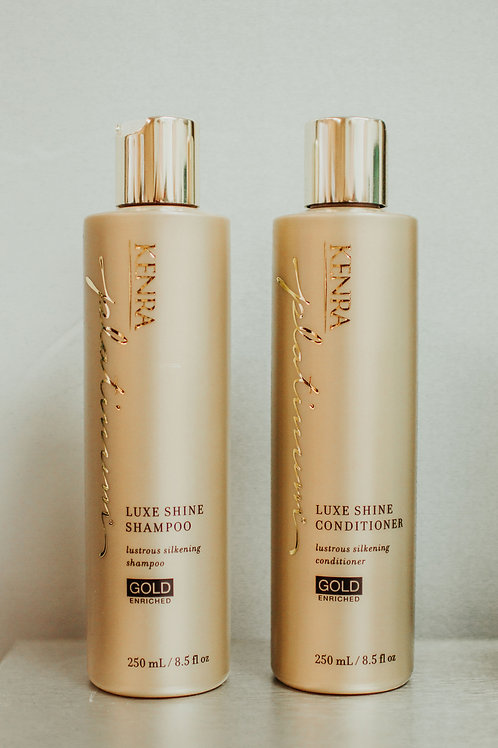 Luxe Shine Shampoo and Conditioner Set